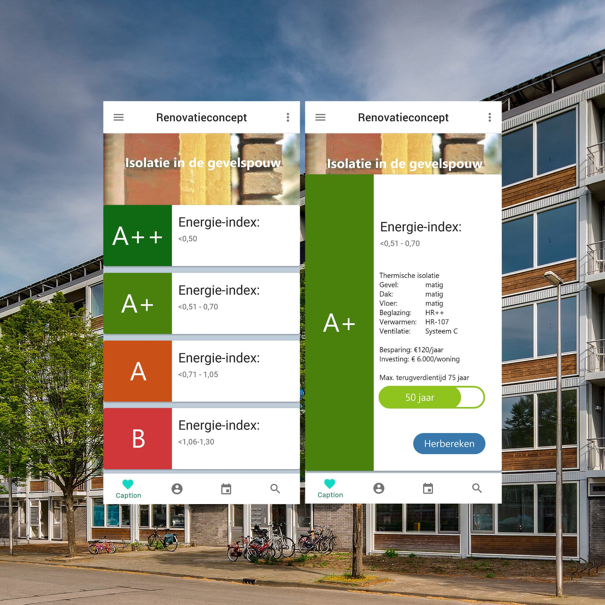 Energiebesparende-app