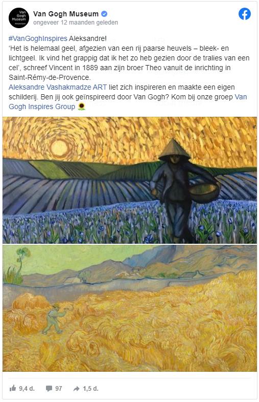 Van Gogh Museum, community, doelgroeponderzoek